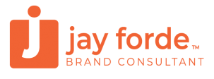 jay forde brand consultant logo woo